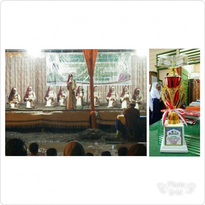 Grup Rebana MTsN 3 Tanjab Barat Meraih Juara II Lomba Rebana MTQ Tingkat Kelurahan Teluk Nilau