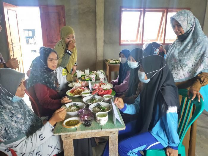 Pelaksanaan Ujian Praktik Seni Budaya MTsN 3 Tanjab Barat
